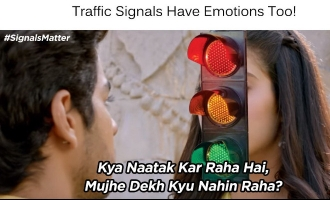 Mumbai Police Meme's 'Dhadak' Moment Impresses This Beauty