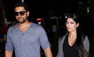 Aftab Shivdasani & His Wife Nin Dusanj Spotted at Airport Return From IIFA
