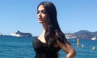 Aishwarya creates Black Magic at Cannes on her second day