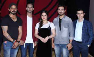 Zareen Khan & Gautam Rode at Trailer Launch of 'Aksar 2'