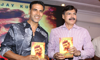 Akshay Kumar at 'Veerappan - Chasing The Brigand' Book Launch