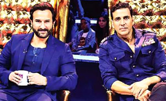 Akshay, Saif miss choreographer Chinni Prakash on TV show