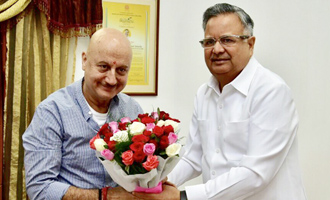 Anupam Kher's interest for Chhattisgarh is heart warming: Chhattisgarh CM