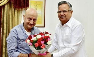Anupam Kher's interest for Chhattisgarh is heart warming: Chhattisgarh CM