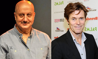 Anupam Kher wishes 'fine actor' Willem Dafoe on birthday