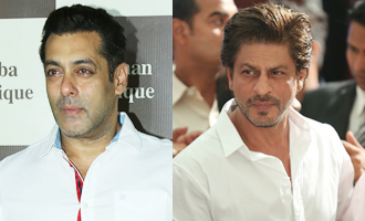 Salman Khan & SRK come together for Baba Siddique's Iftaari party