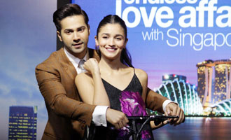 'Badrinath Ki Dulhania' Promotion With Singapore Tourism