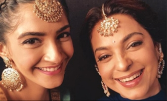 Sonam Kapoor And Juhi Chawla Rocks The Punjabi Look On The Sets Of 'Ek Ladki Ko Dekha Toh Aisa Laga'