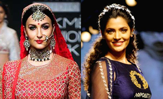 Elli Avram, Siami Kher walk the ramp at Crocs Mysore Fashion Week
