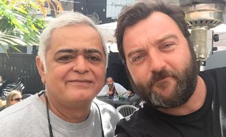 Hansal Mehta's 'fan moment' with Denis Menochet