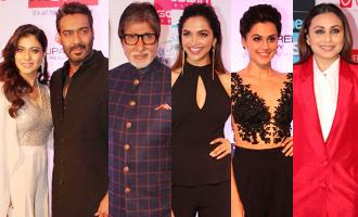Amitabh, Deepika, Ajay Devgn, Kajol, Rani, Taapsee at HT Most Stylish Awards 2017