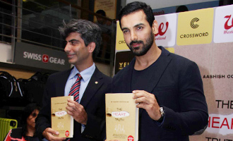 John Abraham at DR. Aashish Contractor Book Launch