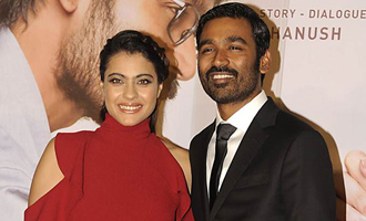 Kajol thanks Dhanush