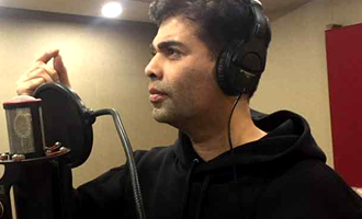 Karan Johar croons for Shekhar Ravjiani