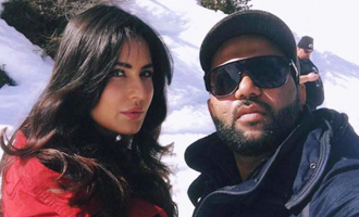Ali Abbas Zafar, Katrina Kaif on set of 'Tiger Zinda Hai'