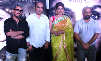 Raveena Tandon at Trailer Launch of Film 'Maatr'