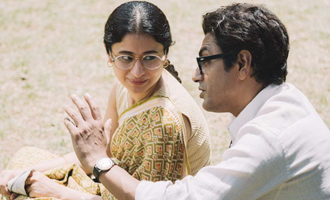 FIRST PIC: Nawazuddin and Rasika clicked together on sets of 'Manto'