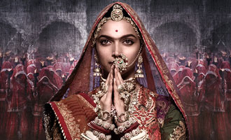 Karni Sena members burn posters of Bhansali's 'Padmavati'