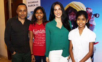 Red Carpet of Special Screening of 'Poorna'