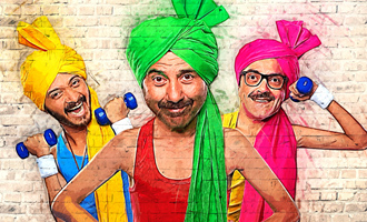 Sunny Deol, Bobby Deol and Shreyas Talpade starrer 'Poster Boys' first look out