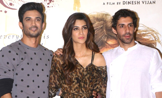 Sushant Singh Rajput, Kriti Sanon at 'Raabta' Trailer Launch