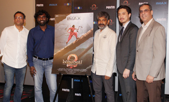 S. S. Rajamouli at IMAX Madia Day