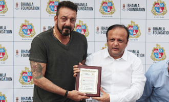 Sanjay Dutt at Tree Plantation & Initiative By MCGM & Bhamla Foundation