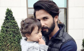 Shahid's daughter gets her ear pierced