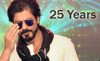 Shah Rukh Khan turns 25 in Bollywood