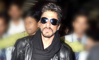 Shah Rukh Khan flies to Vancouver