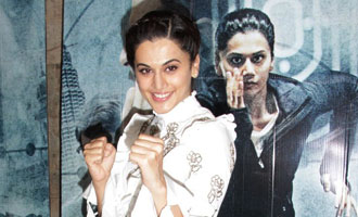 Taapsee Pannu at 'Zinda' Song Launch from 'Naam Shabana'