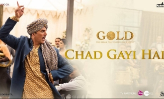 Akshay Kumar's Trippy Dhoti-Dance In 'Gold's Chad Gayi Hai Is A Must Watch!