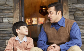 LATEST PIC: Salman Khan with his special friend Matin in 'Tubelight'