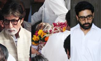 Vinod Khanna gets tearful farewell