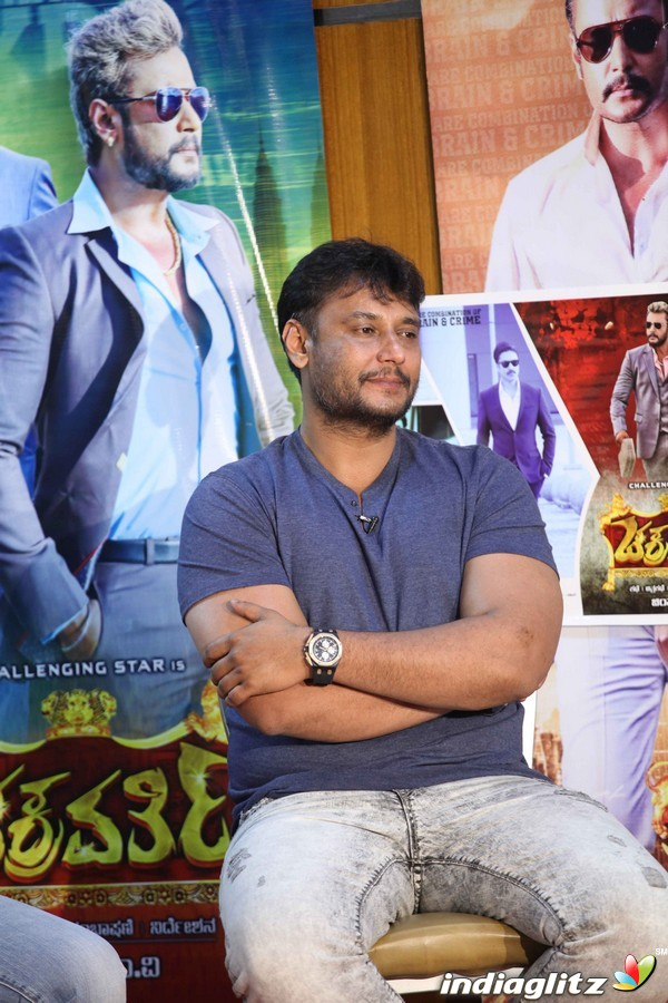 'Chakravarthy' Movie Press Meet
