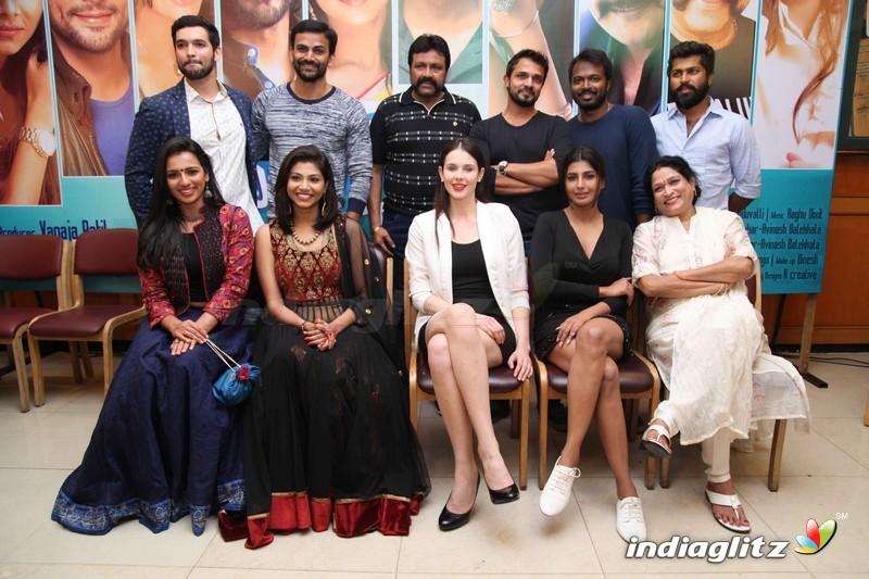 happy new year film press meet kannada actress gallery indiaglitz kannada