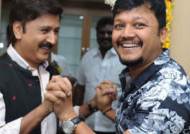 Golden star Ganesh at Week End, this is last but one