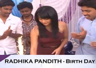 Kannada Actress Radhika Pandit Birthday Celebration
