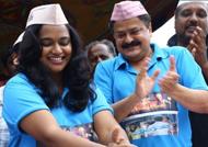 Shruthi Naidu birthday, farmers kush huva