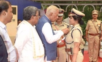 Governor, CM at medal presentation, Roopa gets applaud