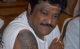 Divine Jaggesh, sleeps on side of Rayara Brindavana