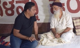 Prakash Rai meet Prasanna, support to protest