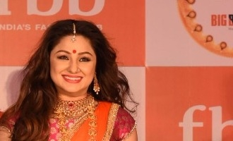 Priyanka Upendra at FBB, launch of festive collection