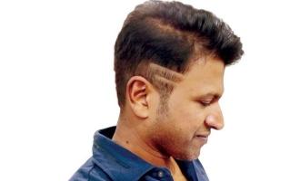 Puneeth new hair style