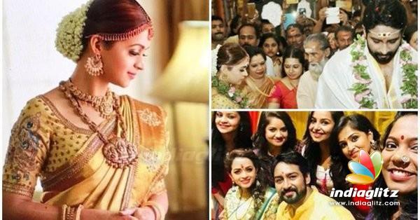 Actress Bhavana Wedding Reception