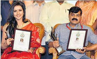 State award presentation, CM for quality in Kannada films
