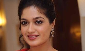 Meghana Raj triple kush, engagement on 22
