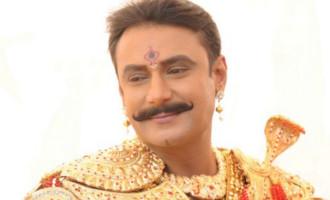 Muniratna Kurukshetra Shooting Ramoji Rao Film City Hyderabad