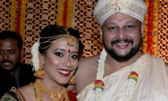Apoorva weds Vandana, Dr Kasaravalli son wedding