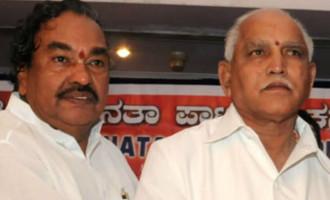 BJP squabble, Yeddi vs Ishwarappa continues